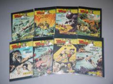 Tibor - Held des Dschungels, 16 Hefte, Großbände, Lehning Vlg., Z 1-2<b