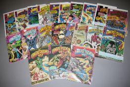 Die Fantastischen Vier, Marvel / Williams, ca. 80 Hefte, Z 1-2, 1974-78