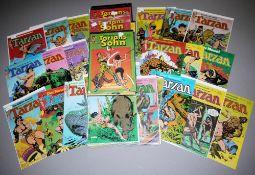 Tarzan & Tarzans Sohn, Ehapa, 76 Hefte, Z 1-2, 1979-1983