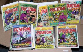 Phantom, Bastei Vlg., ca. 80 Hefte und 36 Taschenbücher, 1974-83, Z 1-2<