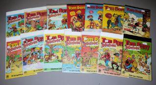 Tom Berry, Pabel, 43 Hefte, Z 1-2, 1968-1972