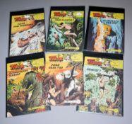 Tibor - Held des Dschungels, Lehning, 10 Hefte, Z 1-2