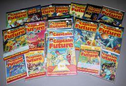 Captain Future, Bastei, 51 Hefte u. 6 Taschenbücher, Z 1-2, ab 1981<