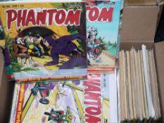 Phantom, Bastei Vlg., 63 Hefte, 1974-83, Z 1-2