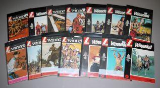 Winnetou, Lehning Vlg., 26 Hefte, 1960er Jahre, Z 1-2