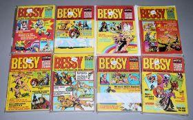 Bessy Taschenbuch, Bastei Vlg., 7 Bände, Z 1-2<