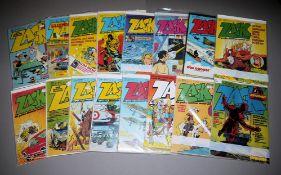 ZACK, Koralle Vlg., 25 Hefte, 1974-1980, Z 1-2