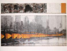 Christo & Jeanne-Claude, 10 Plakate, 9x signiert, Für Selbstbesichtiger!<