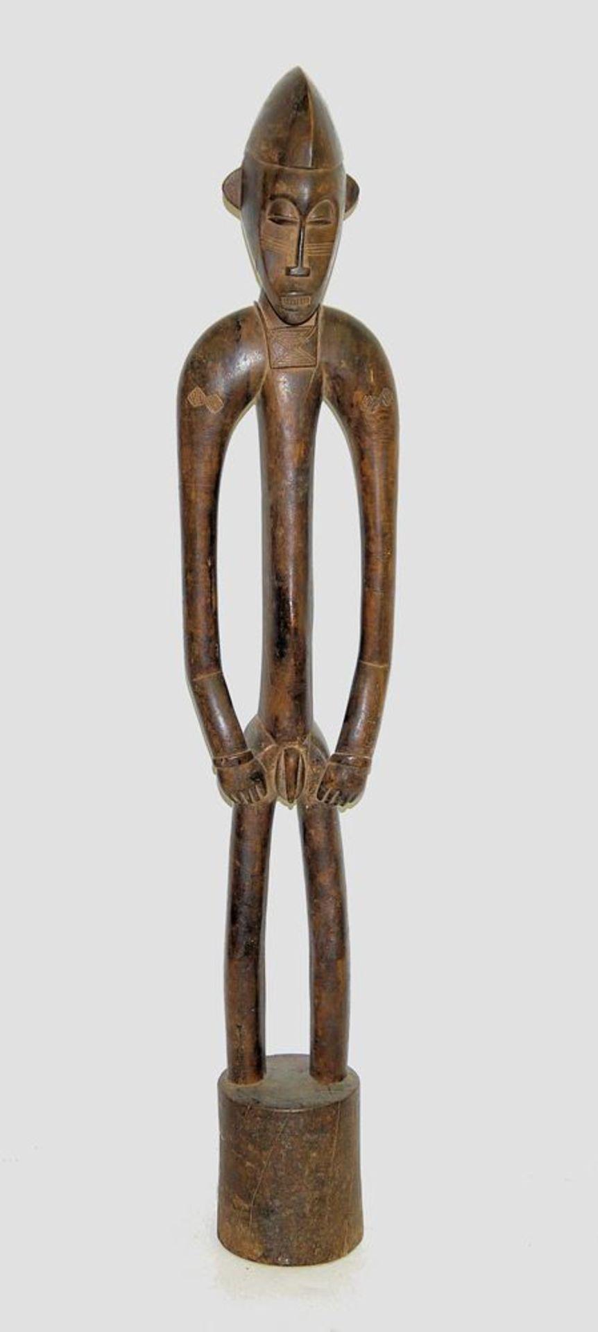 """Rhythmus-Stampfer """"Siibele"""" der Senufo, Mali/Elfenbeinküste"""
