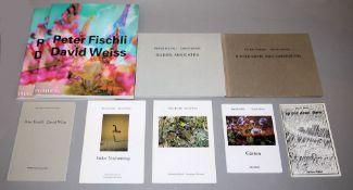 Peter Fischli & David Weiss, 9 Kataloge & Künstlerbücher, 1975-2011