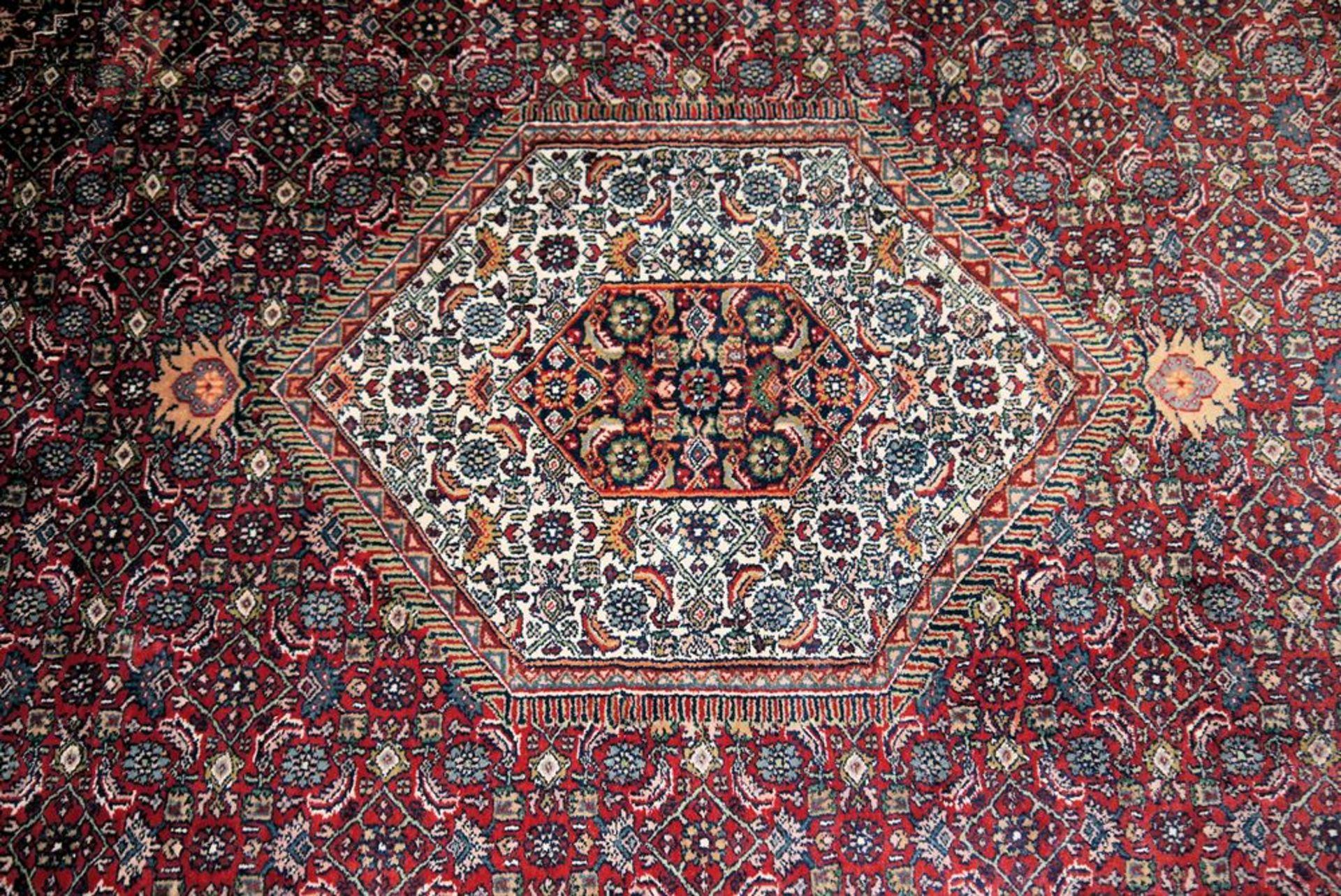 Paar große Orientteppiche Indo-Bidjar & kleiner Läufer, Bidjar, Persien - Bild 3 aus 5