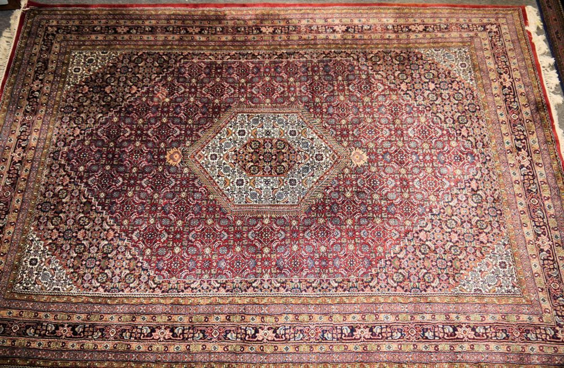 Paar große Orientteppiche Indo-Bidjar & kleiner Läufer, Bidjar, Persien
