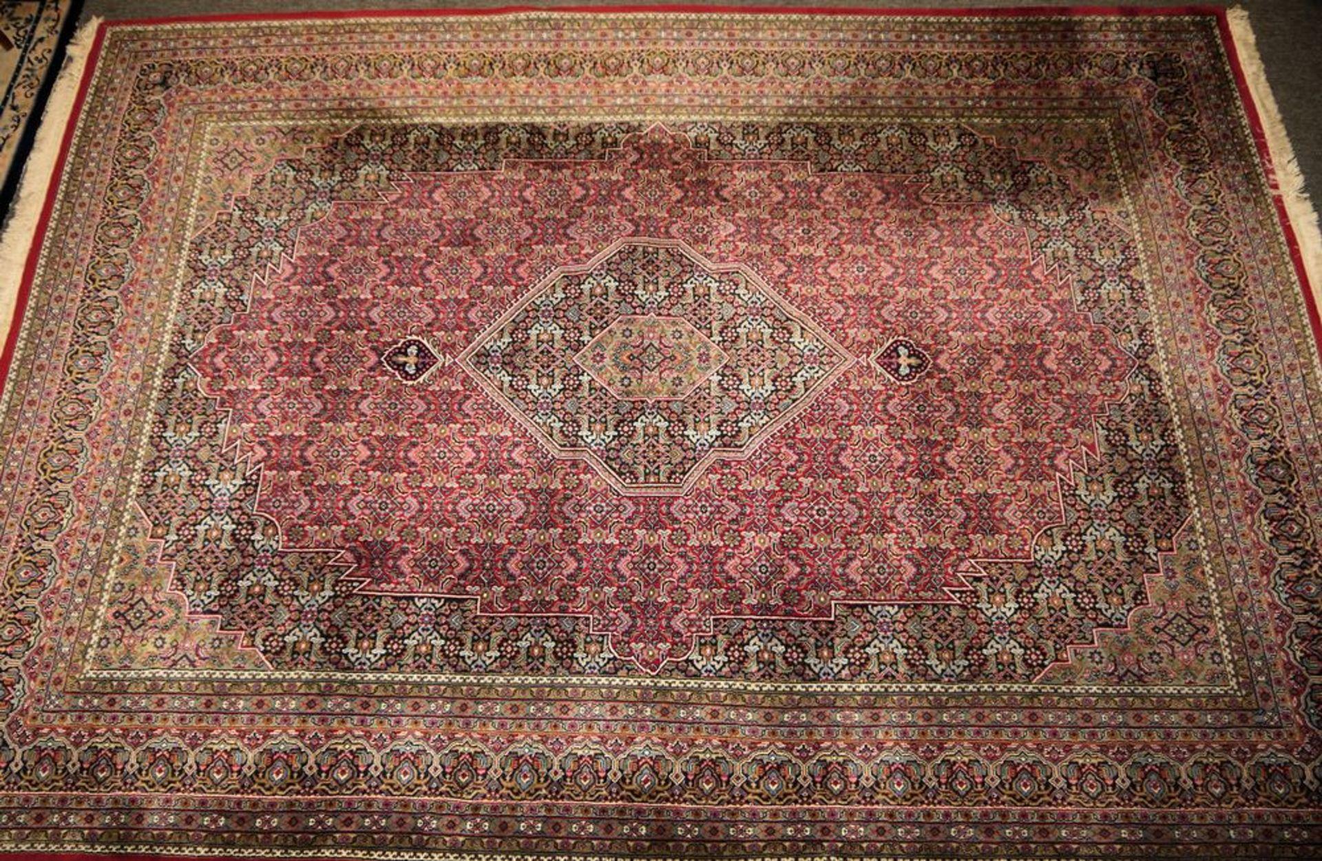 Paar große Orientteppiche Indo-Bidjar & kleiner Läufer, Bidjar, Persien - Bild 5 aus 5