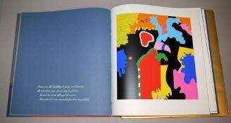 """Otmar Alt - Wystan Hugh Auden, """"Die große Veränderung"""", Buch mit 10 Farbserigraphien, 1973"""