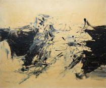 Bernhard Brodda, Informelle Komposition, Ölgemälde um 1960/65