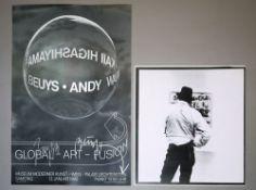 Joseph Beuys, 3 Tonnen Edition, PVC-Siebdruck & sign. Plakat, o. Rahmen