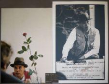 """Joseph Beuys, """"Neues vom Gold"""", """"Ohne die Rose tun wir's nicht & Filzpostkarte,"""
