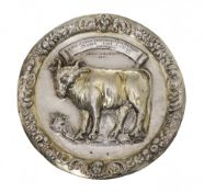 Guild plate of the butchers