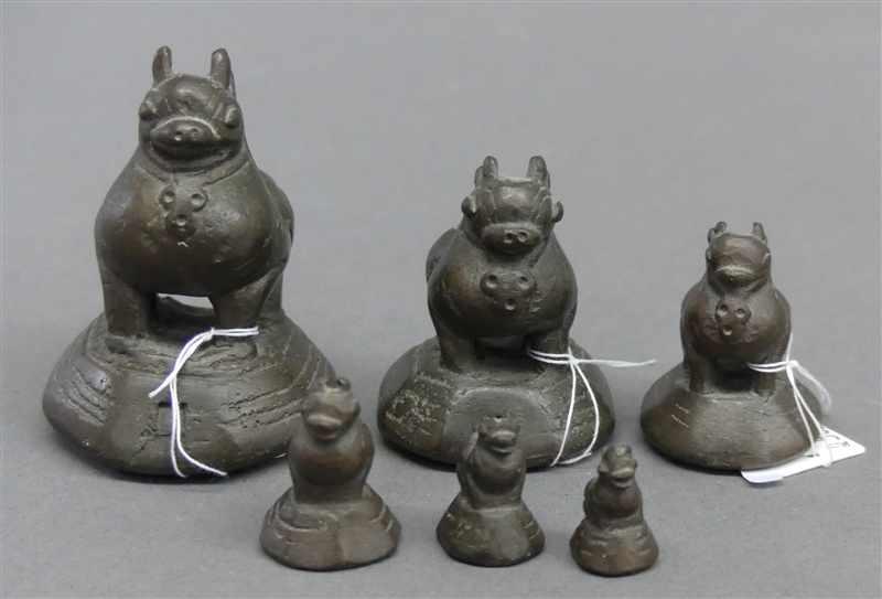 Lot 6049 - 6 Opiumgewichte