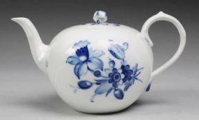 """Teekanne """"Blaue Blume mit Insekten"""""""