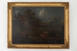 Old masters landscape painting