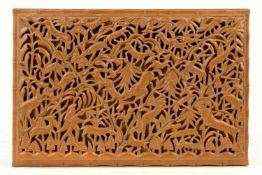 Jagdschatulle aus Nussbaum