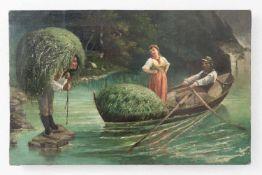 "Painting ""Hay harvest"", around 1800"