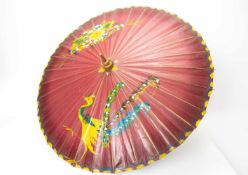 Asiatischer Schirm