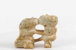 Afrikanische Fruchtbarkeitsfigur aus Marmor