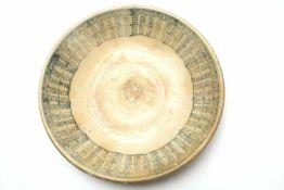 Ceramic plate, China