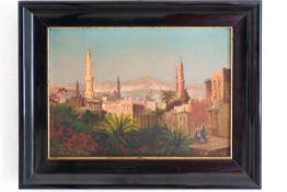 """Orientalische Stadtansicht """"Über den Dächern von Kairo"""""""