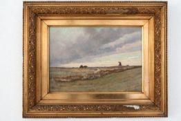 """Gemälde """"Niederländische Landschaft"""""""