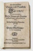 Seltener Sammelband mit vier Werken Nicolas de Bonnefons'Seltener Sammelband mit vier We