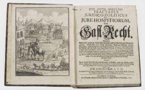 "J. V. D. Joh Jodoco Beck (Hrsg.): ""Von Gast-Recht.J. V. D. Joh Jodoco Beck (Hrsg.): ""Von"