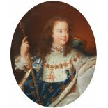 French School, 18th/19th centuryPortrait of Louis XV after Hyacinthe Rigaud