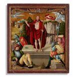 South German School, circa 1500/1510The Risen Christ