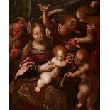 Prague SchoolThe Holy Family with Saint John the Baptist
