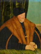 Hans Krell, attributed toPrince Elector August of Saxony (1526-1586)Oil on panel (parquetted). 62