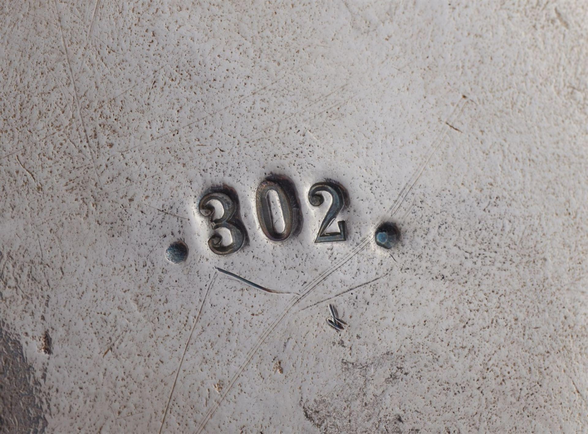 Los 744 - A rare Halle silver tankardSilver; with remains of gilding. Silver tankard with remnants of former