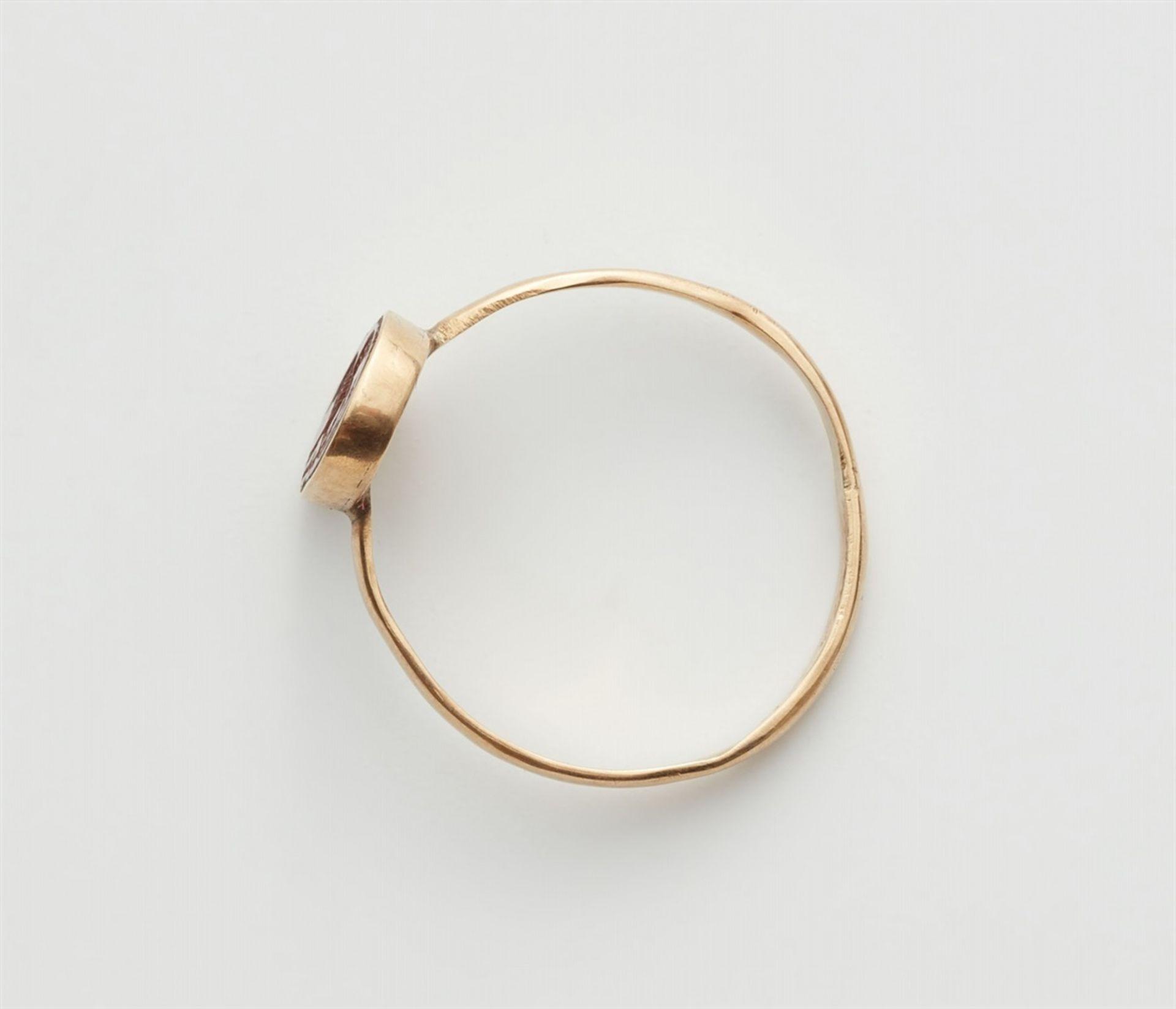 Ring mit römischer Gemme - Bild 3 aus 3