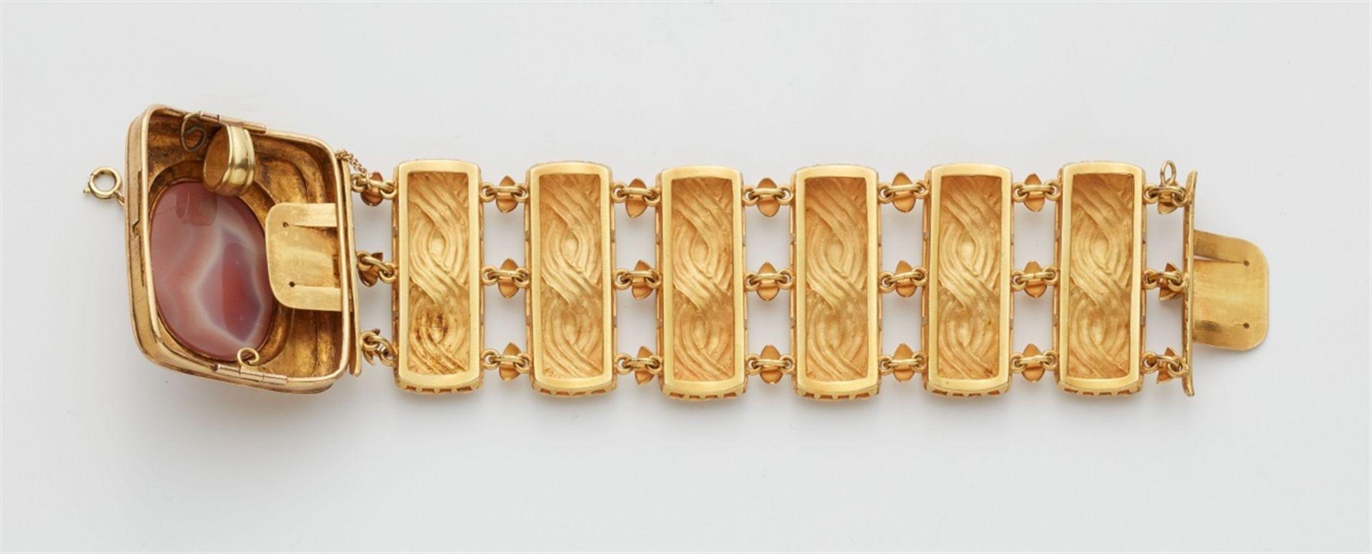 Armband mit Kameenschließe - Bild 2 aus 4