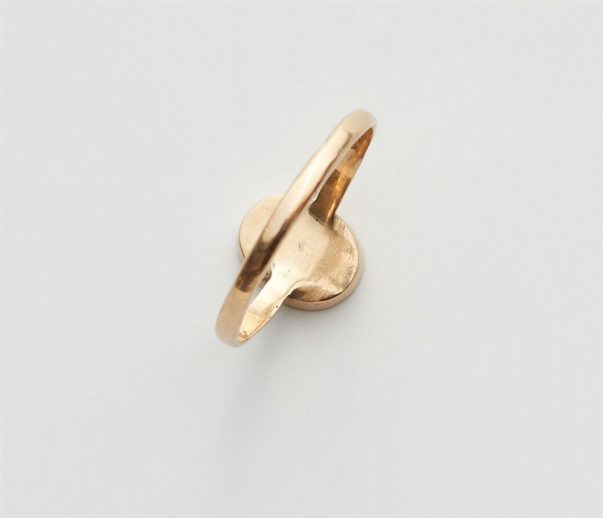 Ring mit römischer Gemme - Bild 2 aus 3