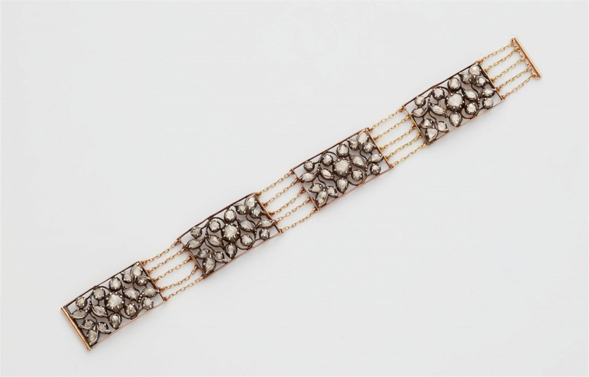 Armband mit Diamantrosen