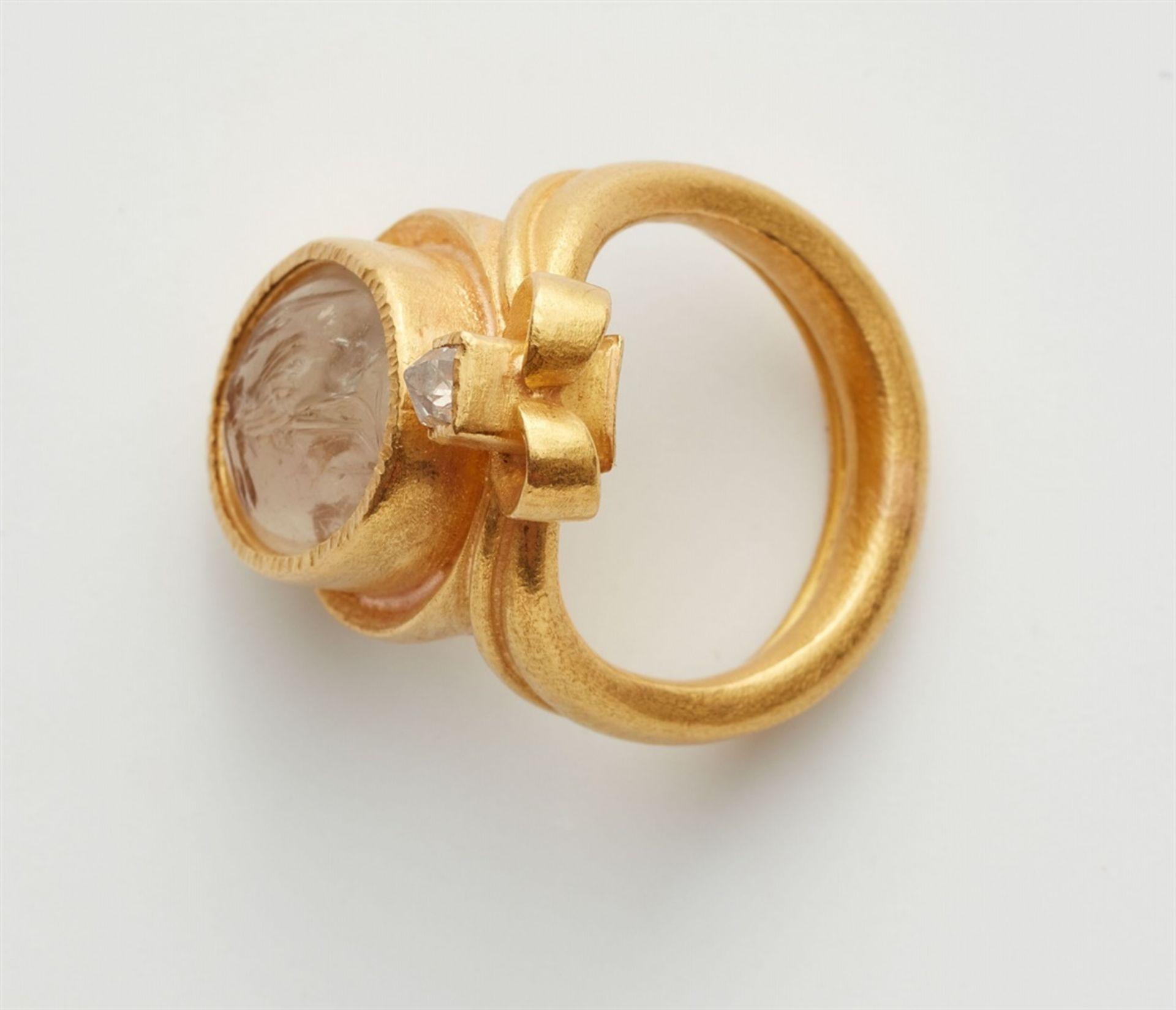 Ring mit römischer Gemme - Bild 4 aus 4