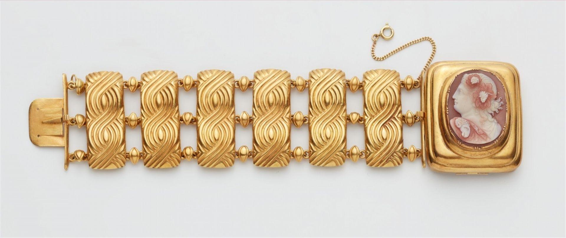 Armband mit Kameenschließe - Bild 4 aus 4