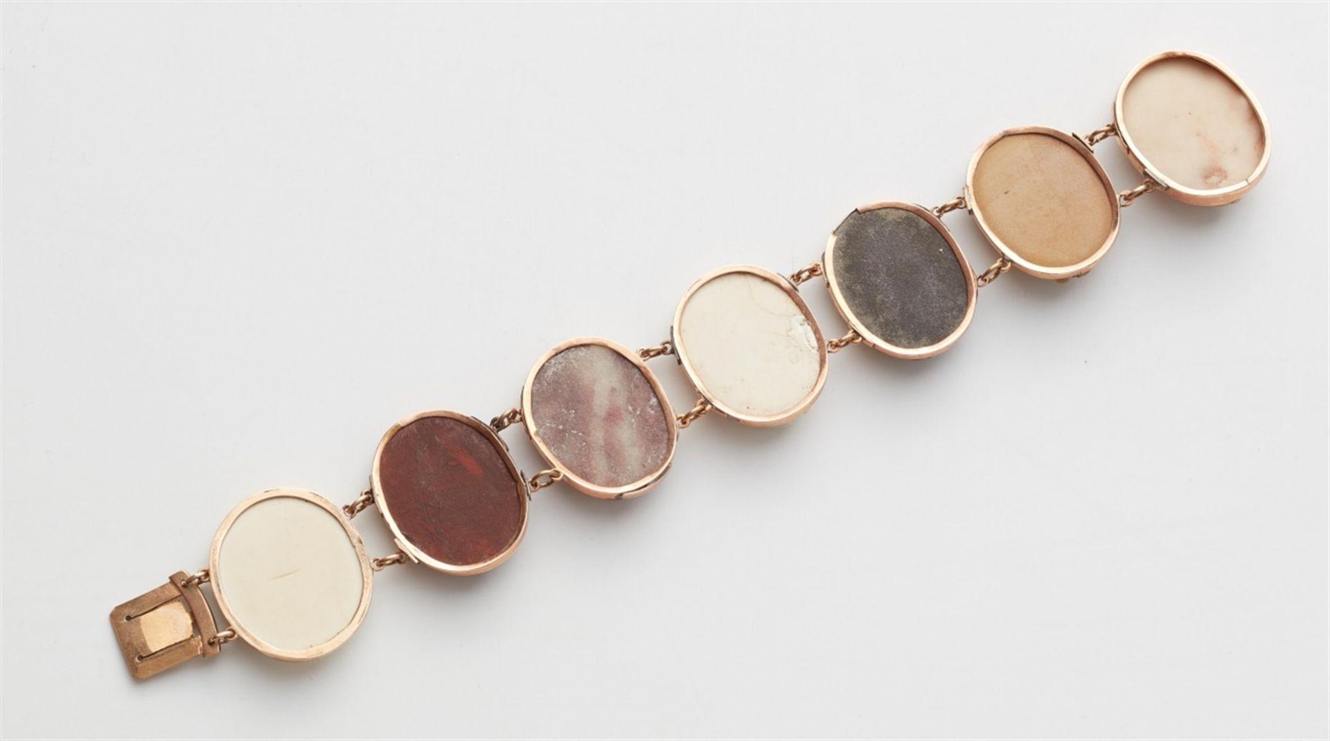 Souvenir-Armband mit Lavakameen - Bild 2 aus 2