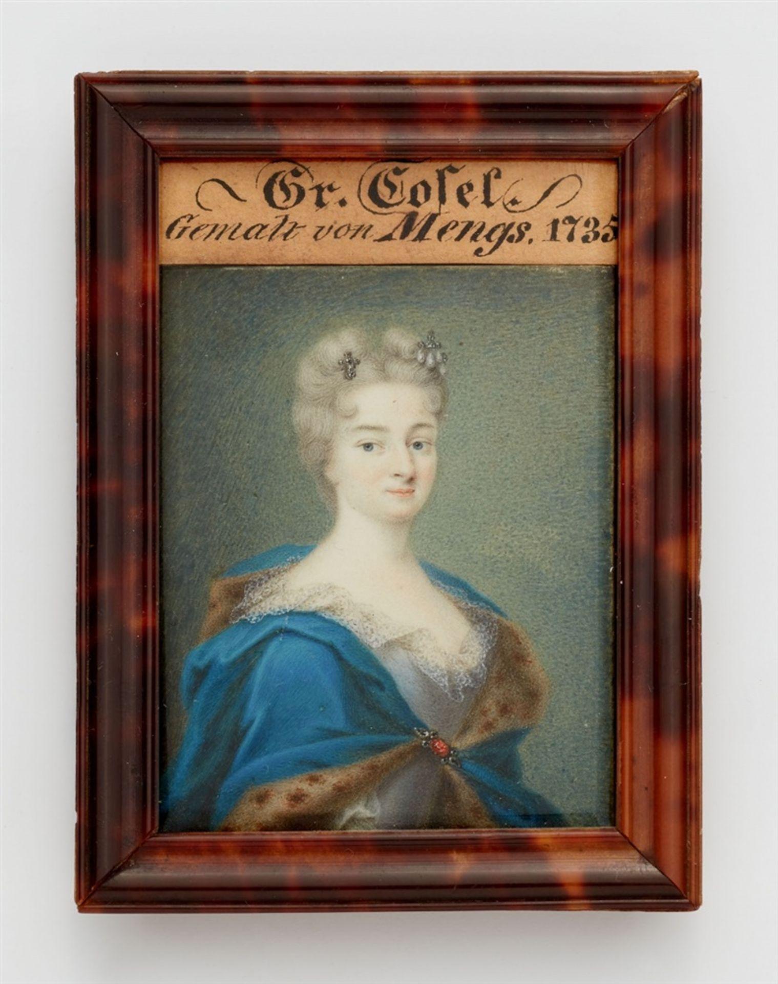 Bildnis der Gräfin Cosel