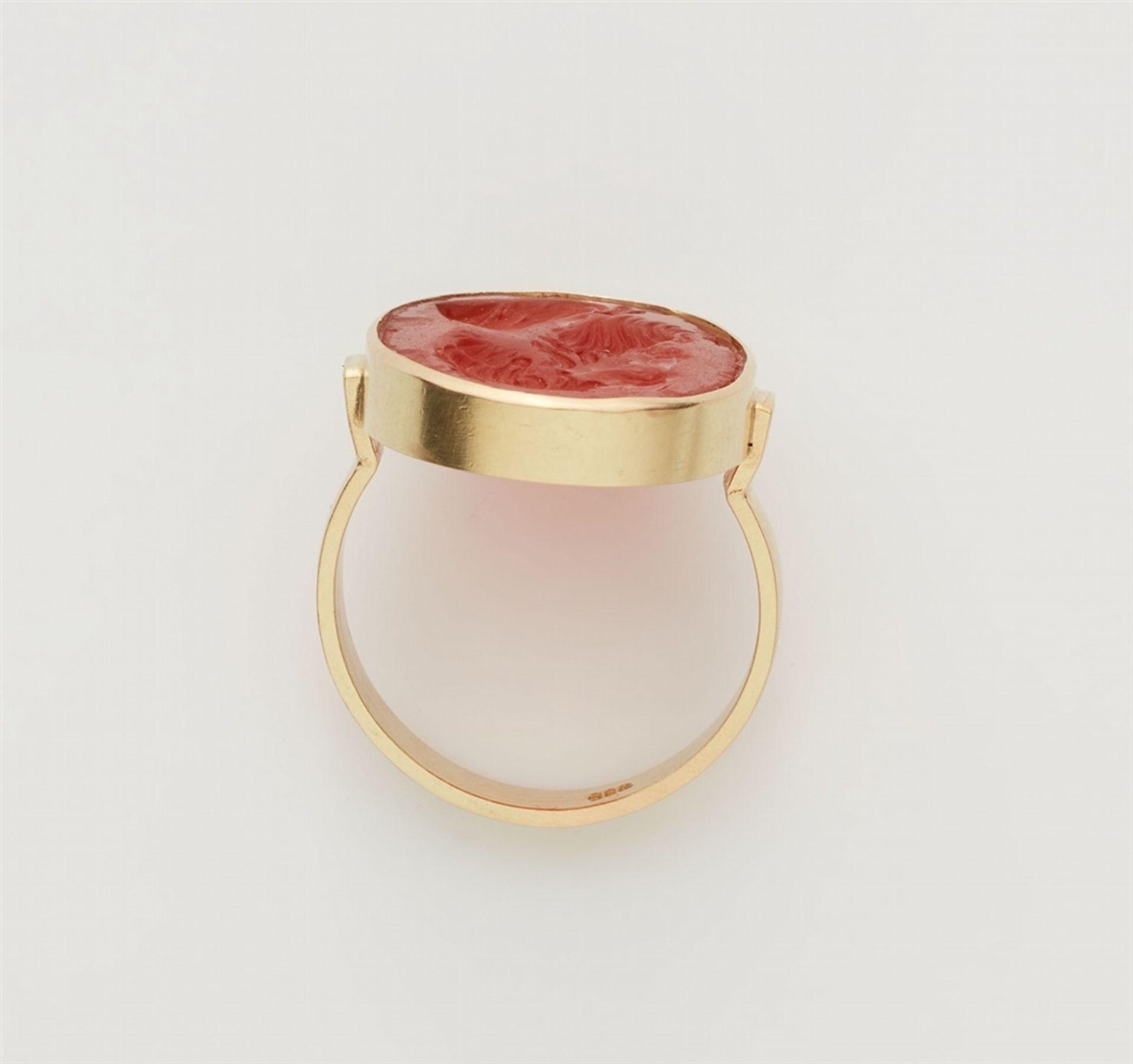 Ring mit klassizistischer Gemme - Bild 2 aus 3