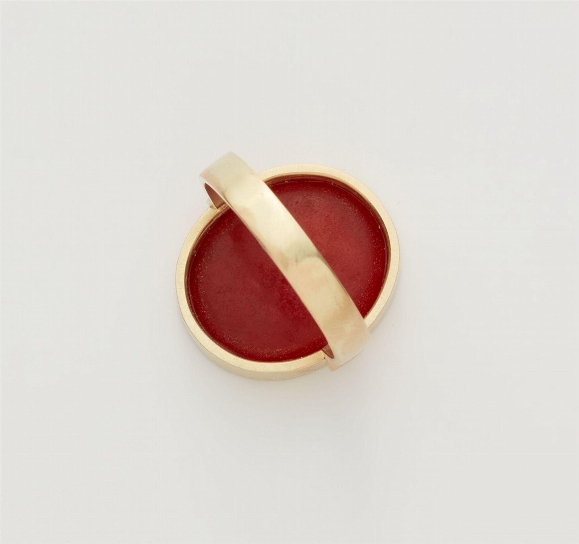Ring mit klassizistischer Gemme - Bild 3 aus 3