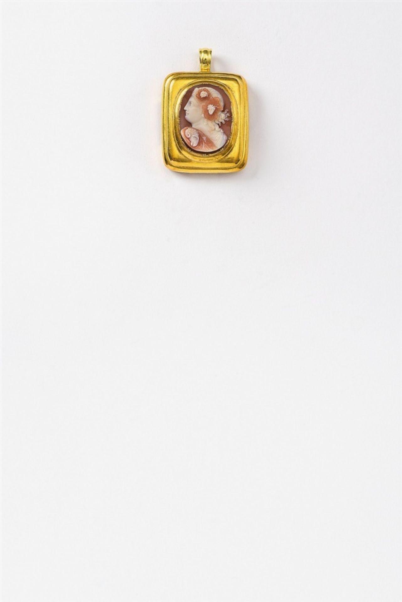 Armband mit Kameenschließe - Bild 3 aus 4